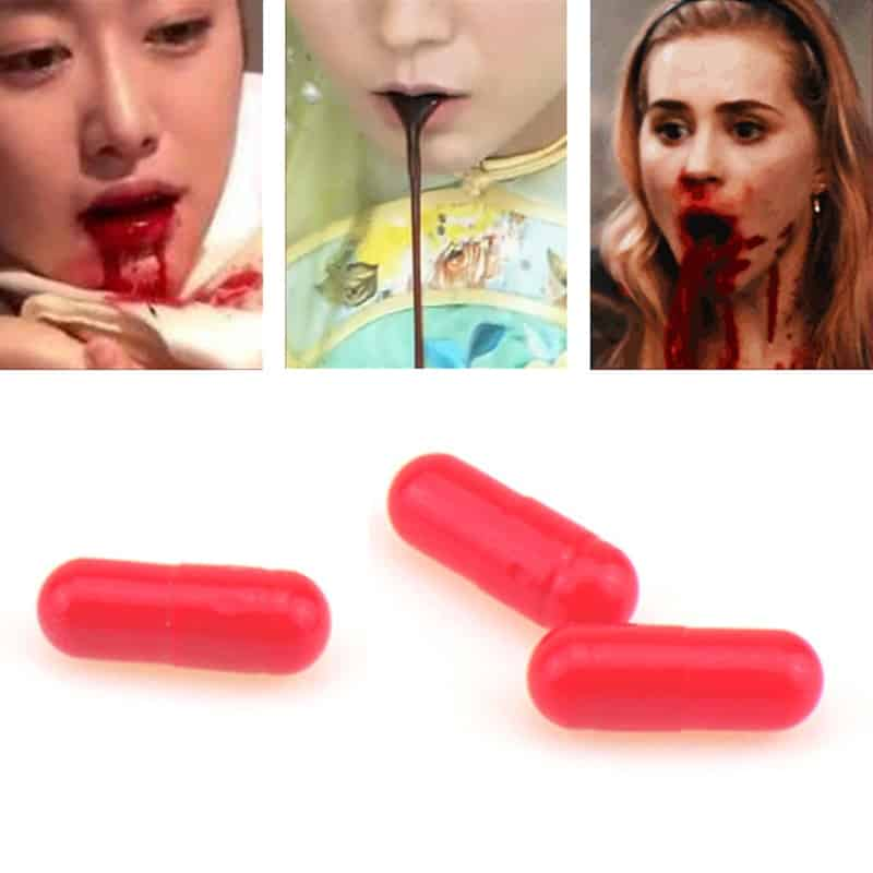 30 Fake Blood Capsules For Pranks And Jokes Molleos