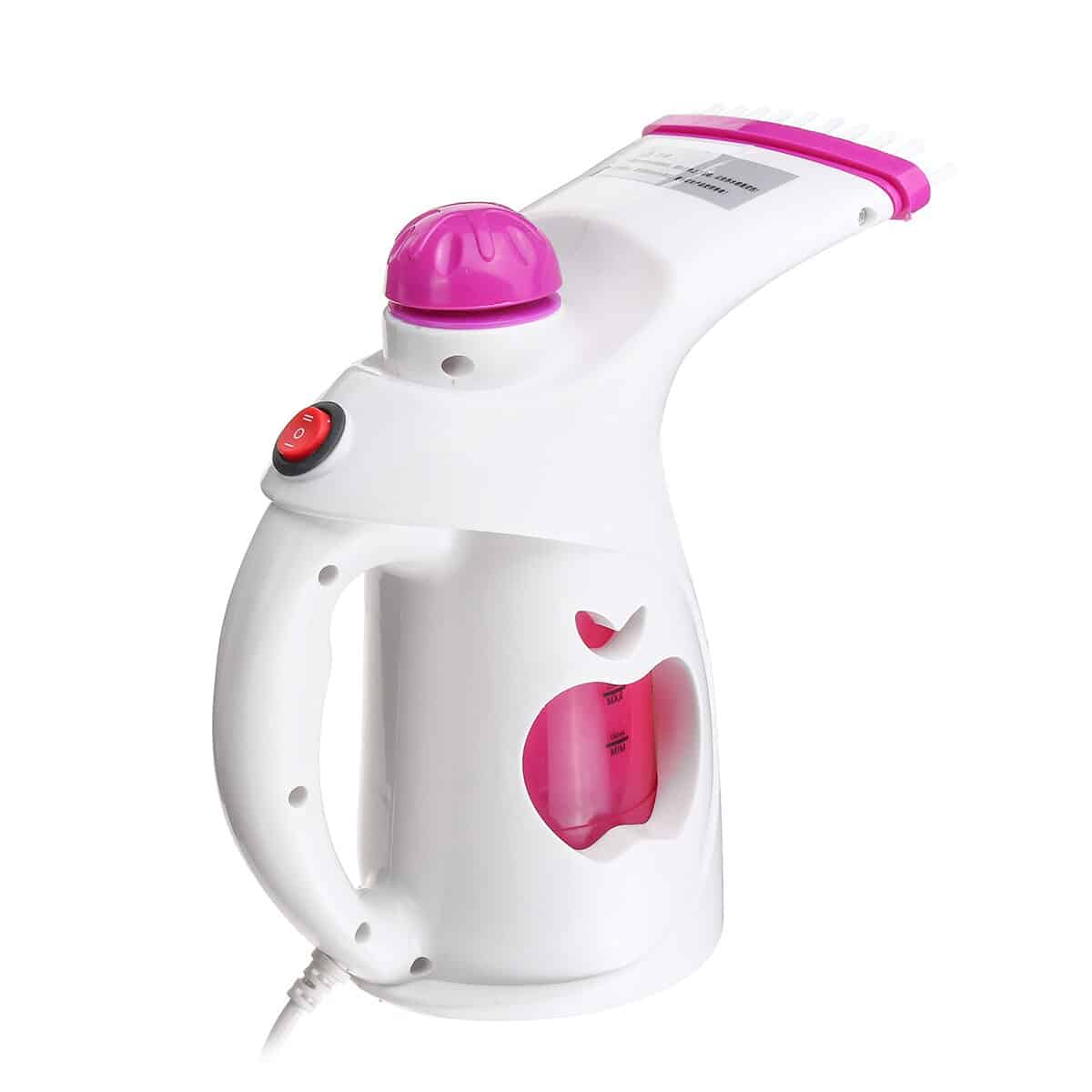 200ML Handheld Garment Steamer Mini Portable Clothes Steam Electric Iron For Household Humidifier Facial Steamer with Brush 4